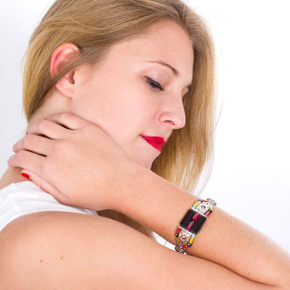 Bracelet Akiko Argent Multi Taratata Bijoux Fantaisie en ligne 2
