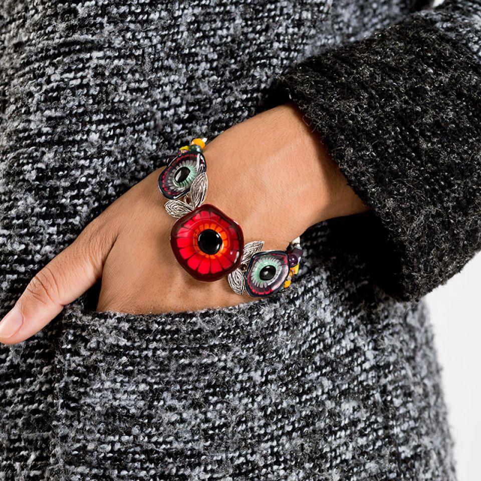 Bracelet Arabesque Argent Multi Taratata Bijoux Fantaisie en ligne 2