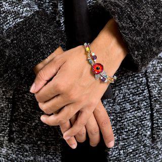 Bracelet Arabesque Argent Multi