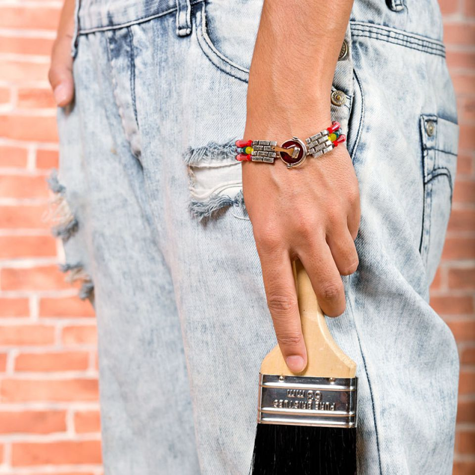 Bracelet Archi-chic Argent Multi Taratata Bijoux Fantaisie en ligne 2