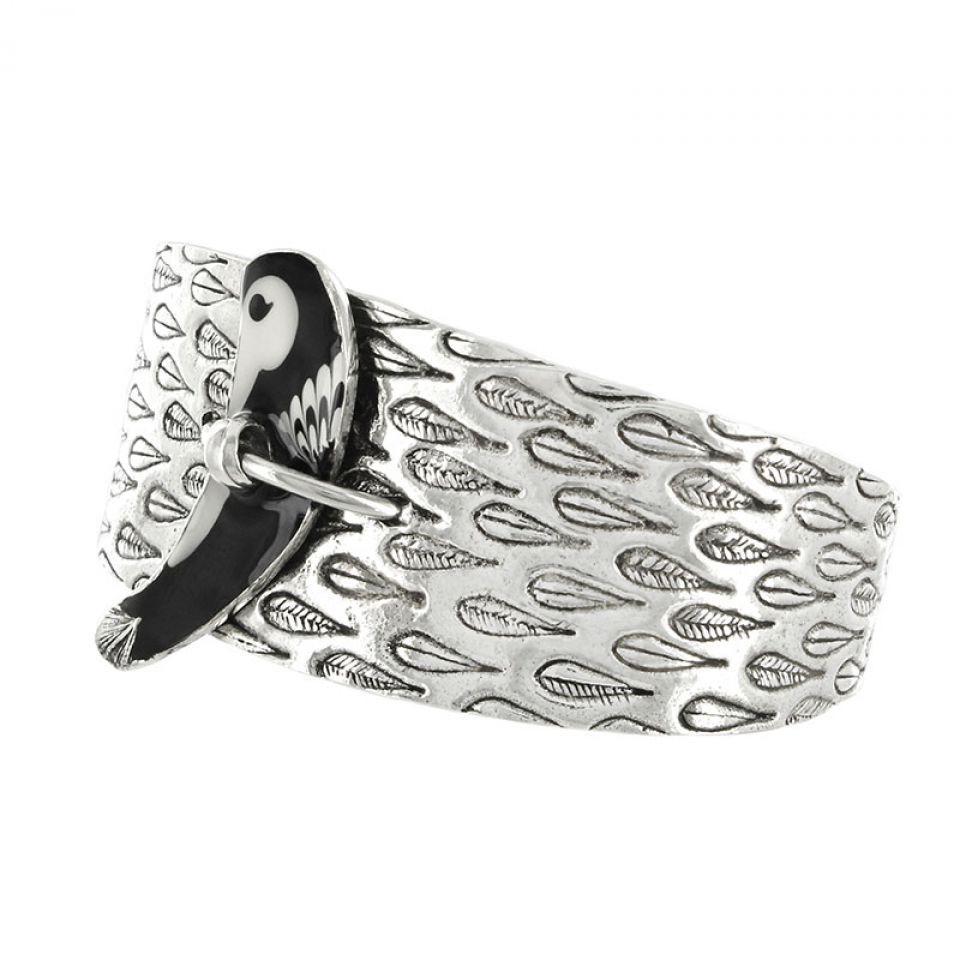Bracelet Aronde Argent Noir Taratata Bijoux Fantaisie en ligne 3