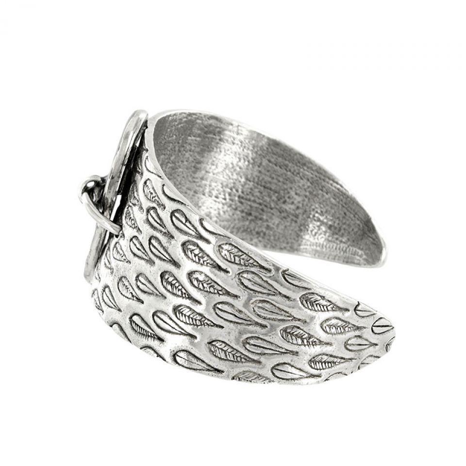 Bracelet Aronde Argent Noir Taratata Bijoux Fantaisie en ligne 4