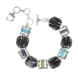 Bracelet Art Ensemble Argent Multi