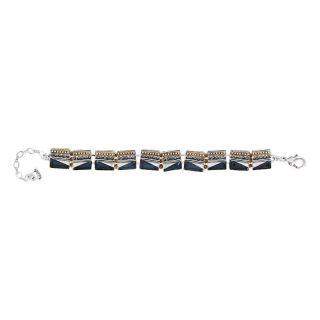 Bracelet Audrey Argent Bleu