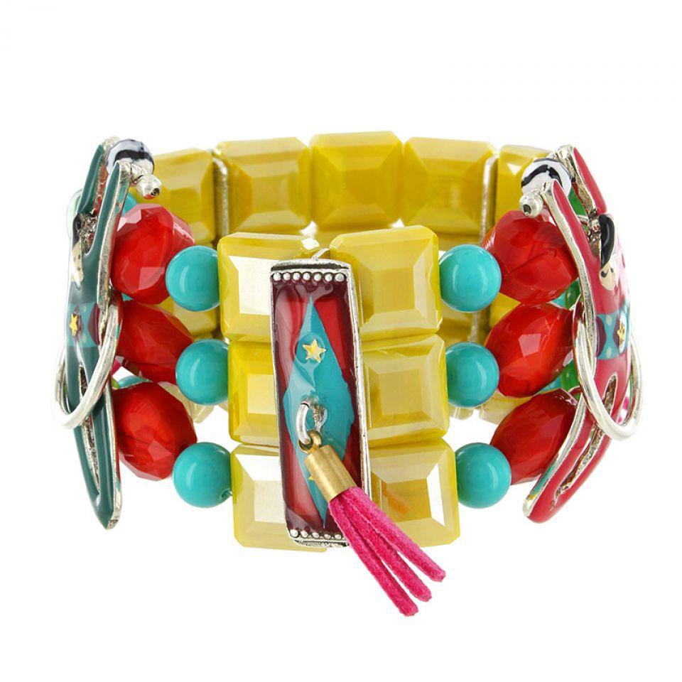 Bracelet Auguste Argent Multi Taratata Bijoux Fantaisie en ligne 3