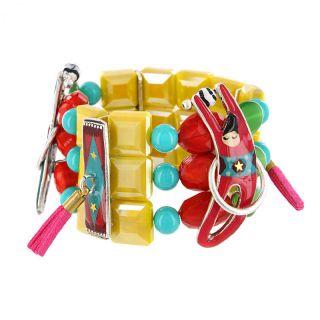 Bracelet Auguste Argent Multi