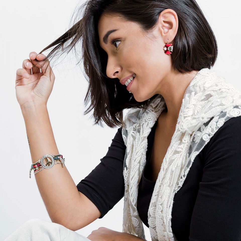 Bracelet Baba-chic Argent Multi Taratata Bijoux Fantaisie en ligne 2