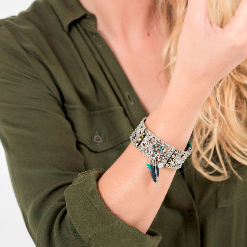 Bracelet Bengale Argent Multi Taratata Bijoux Fantaisie en ligne 2