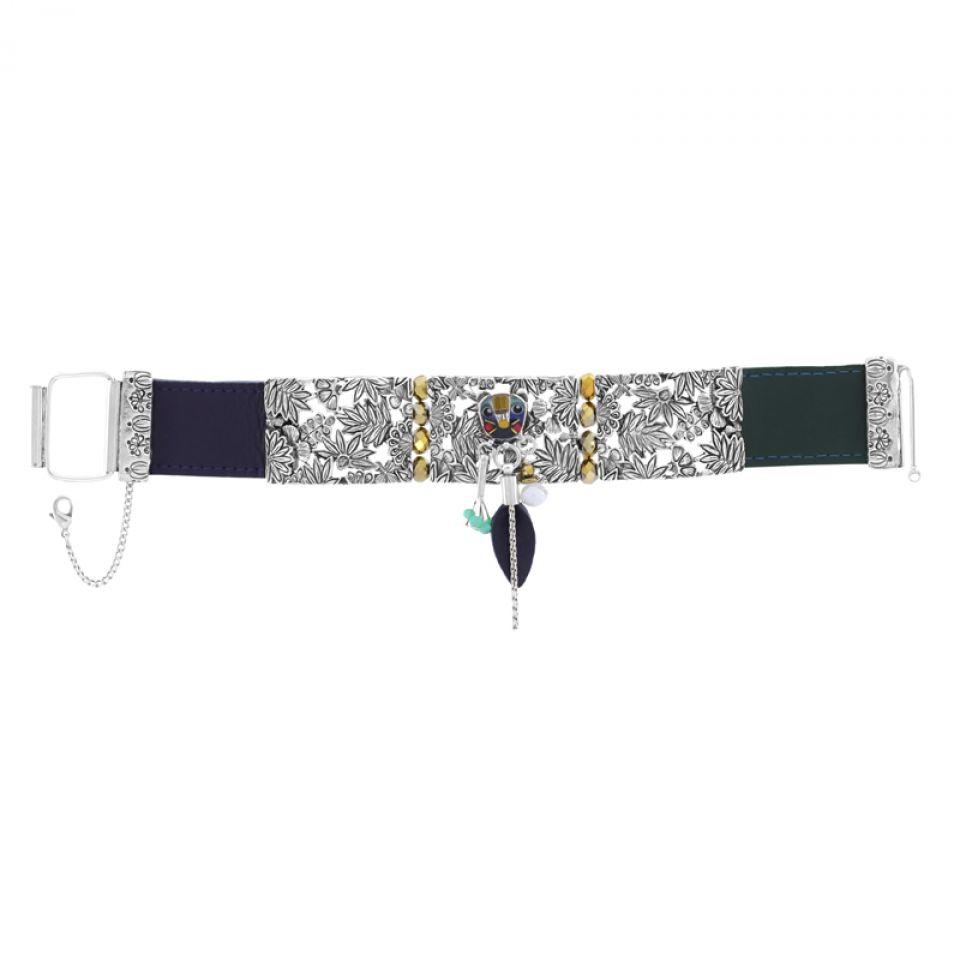 Bracelet Bengale Argent Multi Taratata Bijoux Fantaisie en ligne 3