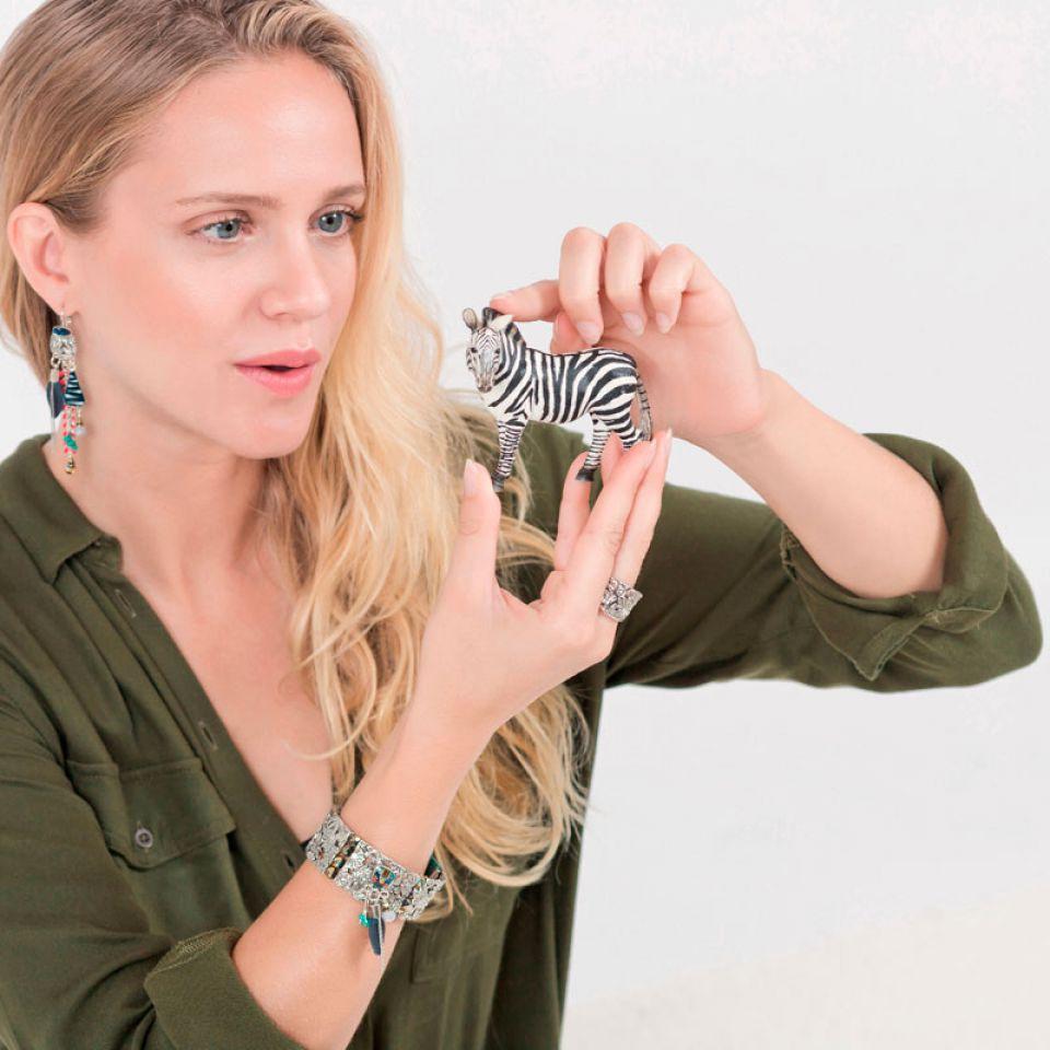 Bracelet Bengale Argent Multi Taratata Bijoux Fantaisie en ligne 4