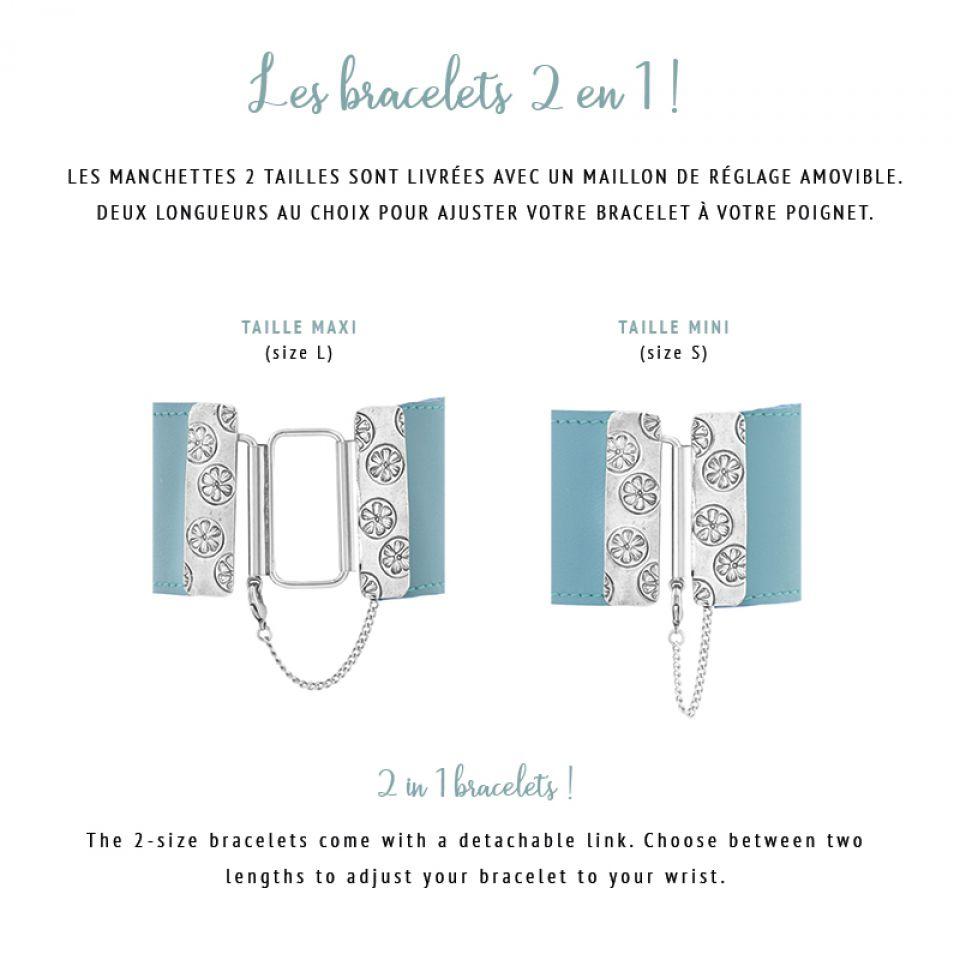 Bracelet Bengale Argent Multi Taratata Bijoux Fantaisie en ligne 7
