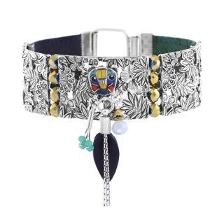 Bracelet Bengale Argent Multi