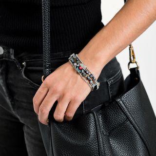 Bracelet Bergamote Argent Multi