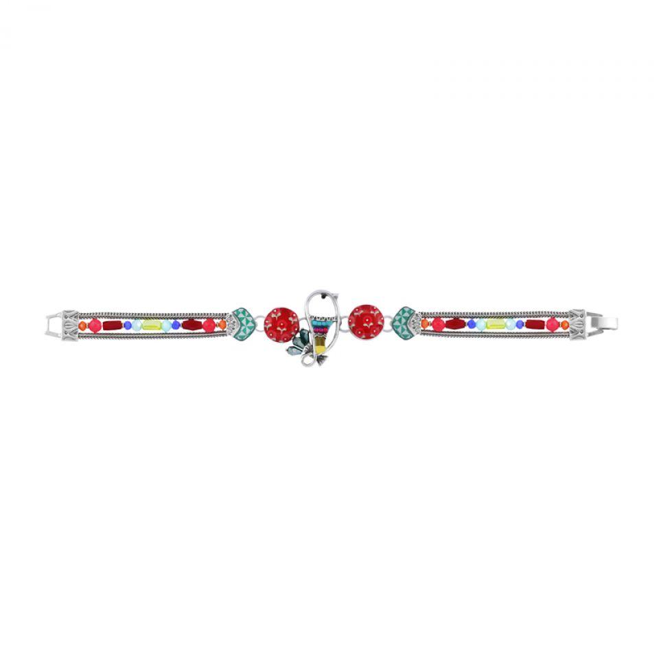 Bracelet Bisou Argent Multi Taratata Bijoux Fantaisie en ligne 3