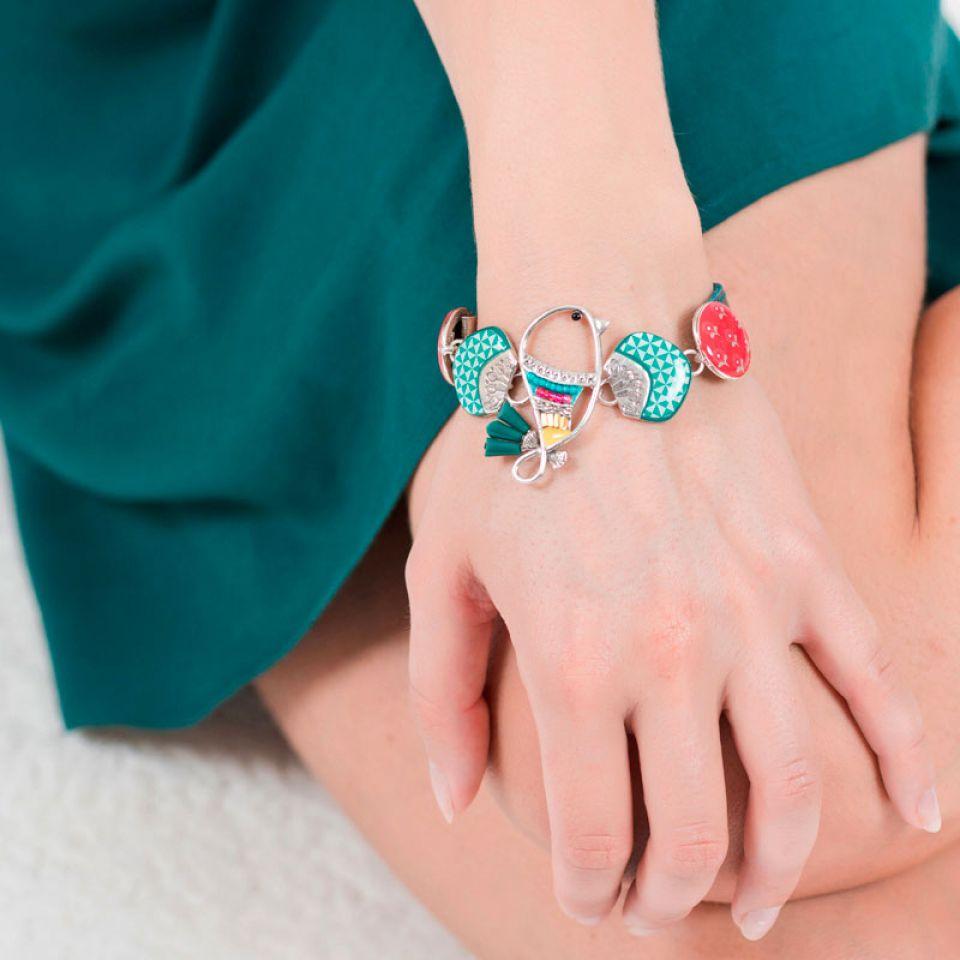 Bracelet Bisou Argent Multi Taratata Bijoux Fantaisie en ligne 2