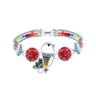Bracelet Bisou Argent Multi