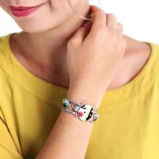 Bracelet Bla-bla Argent Multi