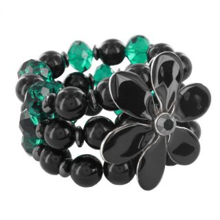 Bracelet Black Swan Noir