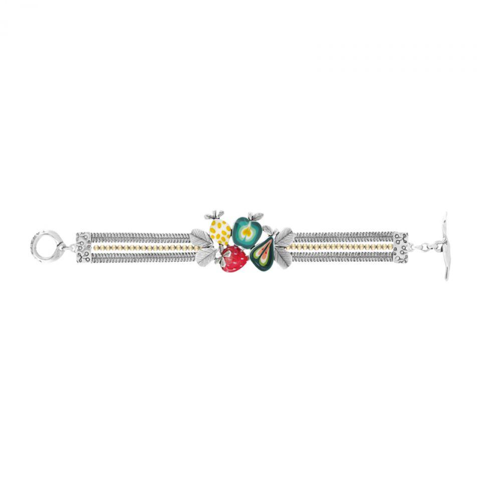 Bracelet Bonbon Argent Multi Taratata Bijoux Fantaisie en ligne 3