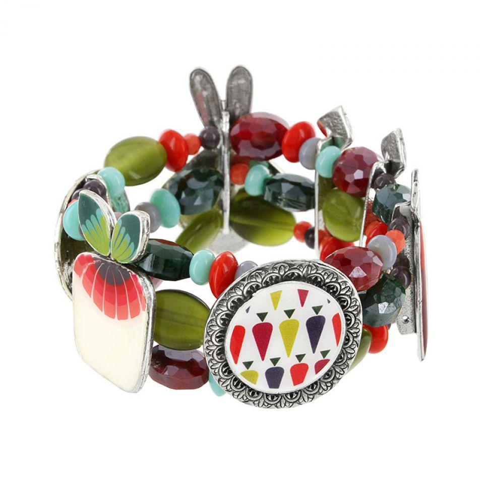 Bracelet Bonne Mine Argent Multi Taratata Bijoux Fantaisie en ligne 3