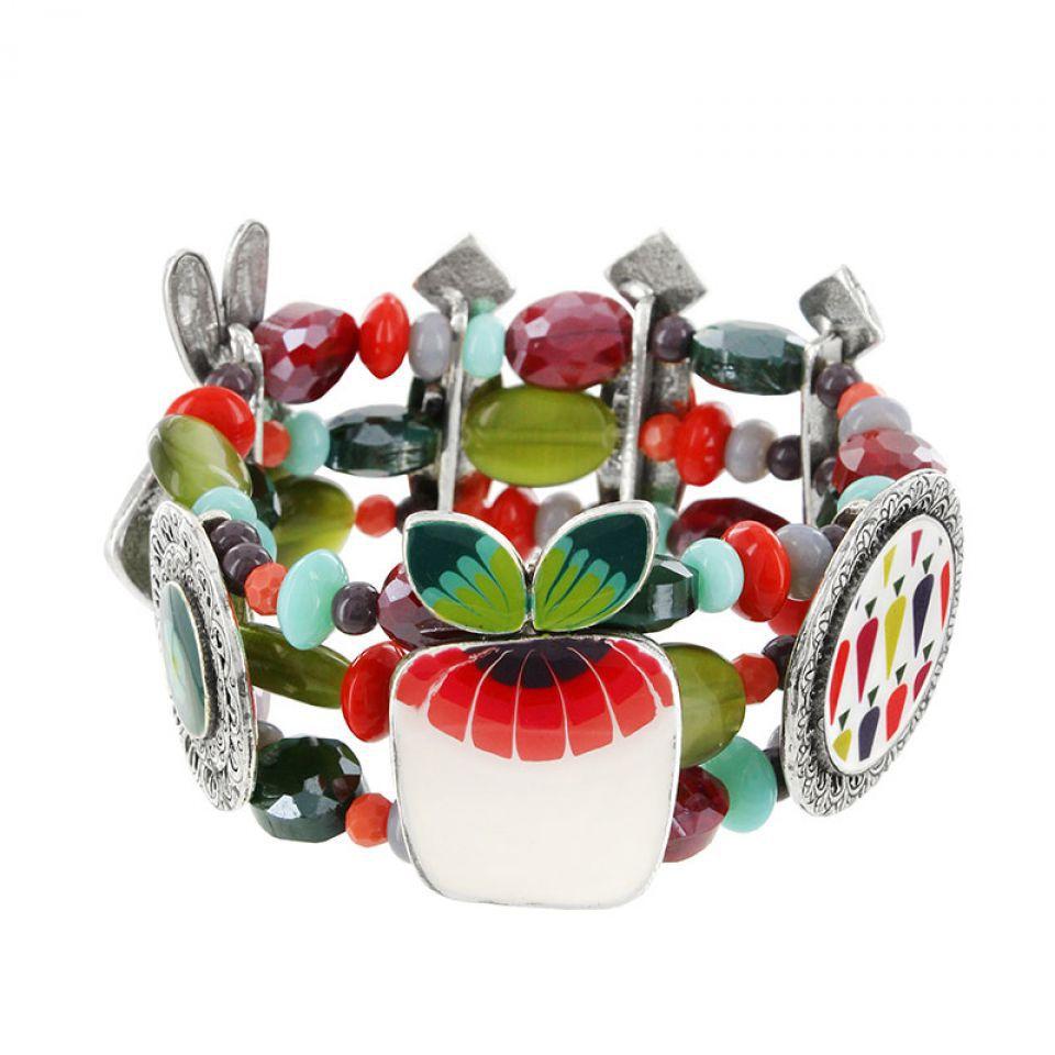 Bracelet Bonne Mine Argent Multi Taratata Bijoux Fantaisie en ligne 4