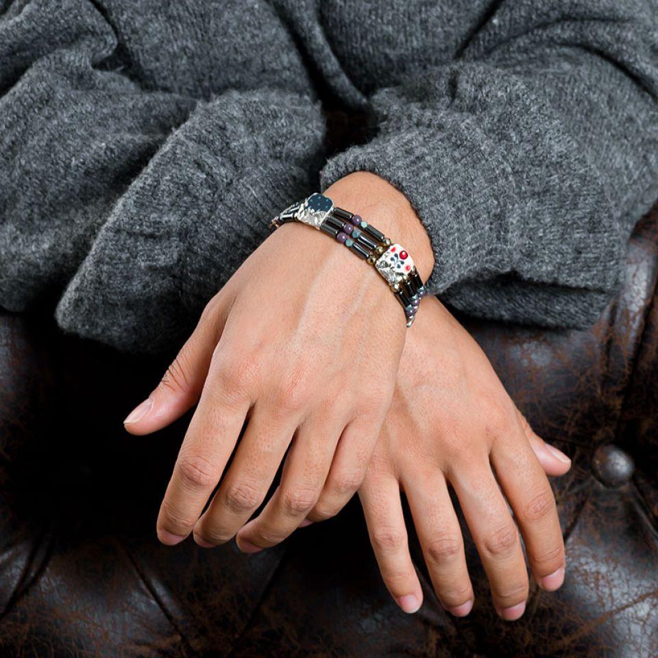 Bracelet Camelia Argent Multi Taratata Bijoux Fantaisie en ligne 2