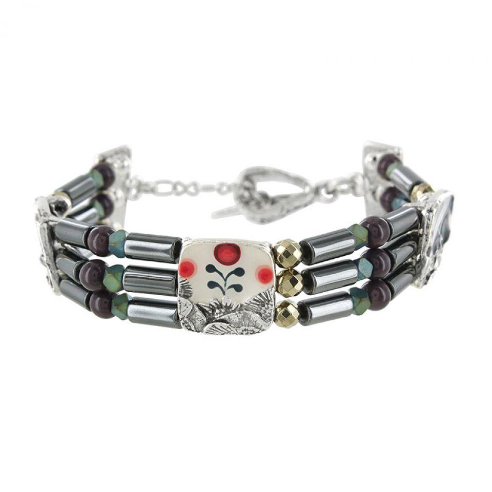 Bracelet Camelia Argent Multi Taratata Bijoux Fantaisie en ligne 3