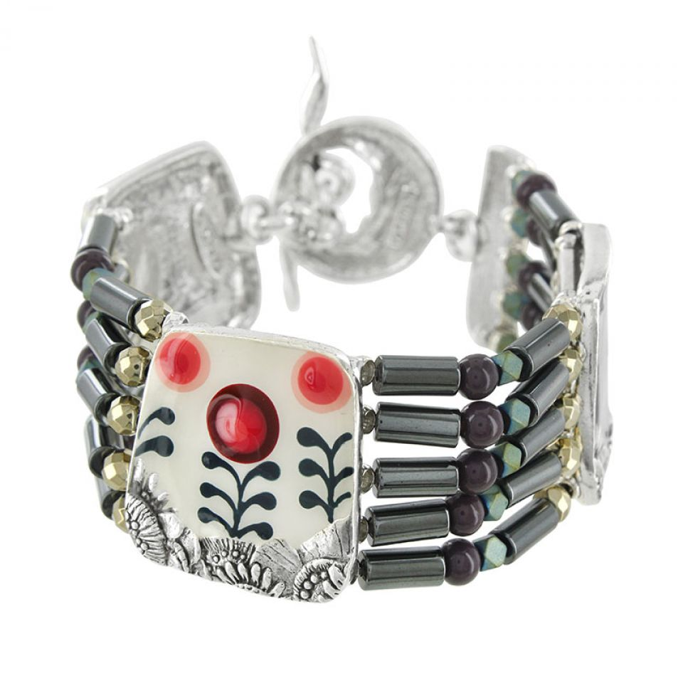 Bracelet Camelia Argent Multi Taratata Bijoux Fantaisie en ligne 1