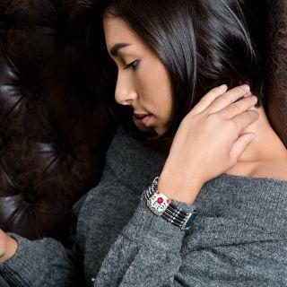 Bracelet Camelia Argent Multi