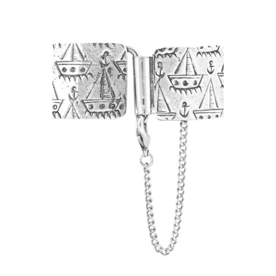 Bracelet Capitaine Argent Bleu Taratata Bijoux Fantaisie en ligne 5