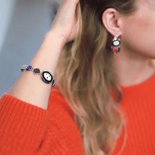 Bracelet Chabeaute Argent Multi