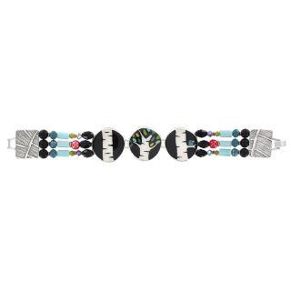 Bracelet Charme Argent Multi