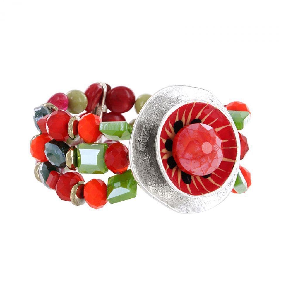 Bracelet Chili Argent Multi Taratata Bijoux Fantaisie en ligne 1