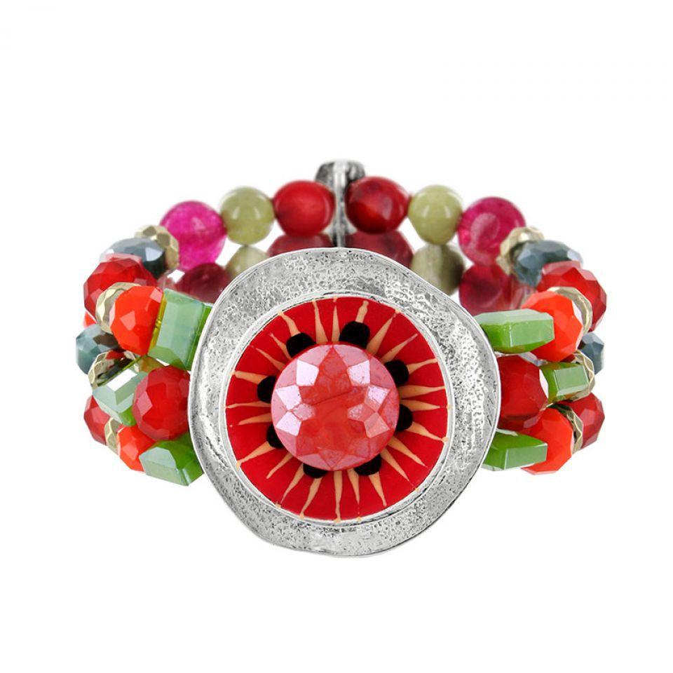 Bracelet Chili Argent Multi Taratata Bijoux Fantaisie en ligne 3