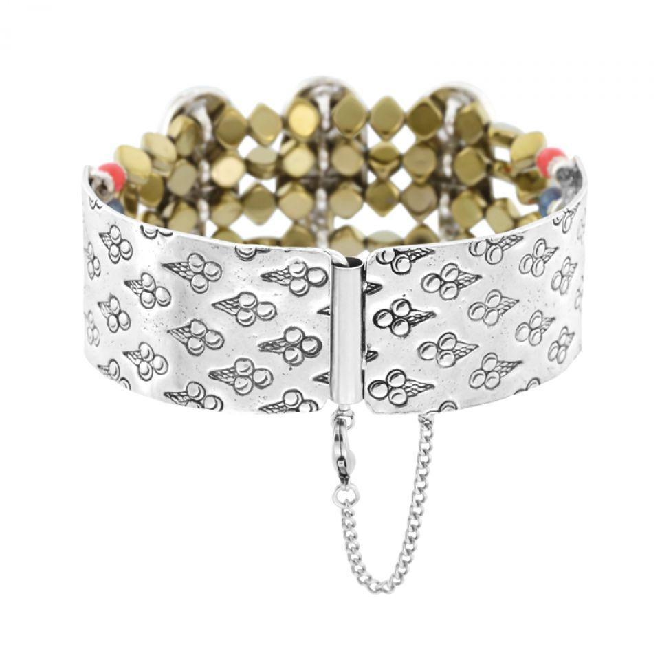 Bracelet Chouchous Argent Multi Taratata Bijoux Fantaisie en ligne 4