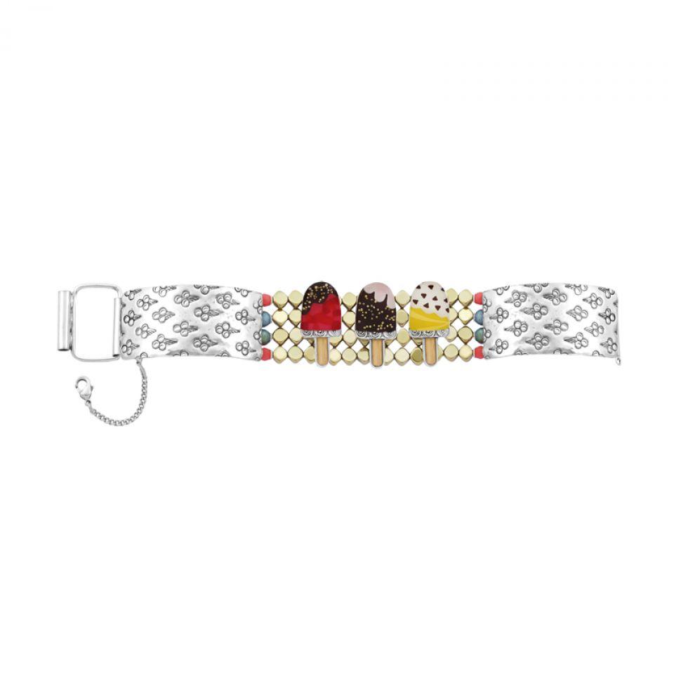 Bracelet Chouchous Argent Multi Taratata Bijoux Fantaisie en ligne 5
