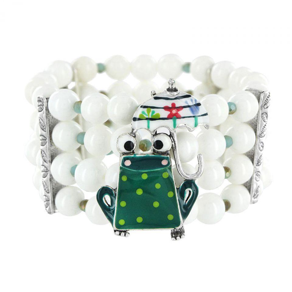 Bracelet Claquette Argent Multi Taratata Bijoux Fantaisie en ligne 2