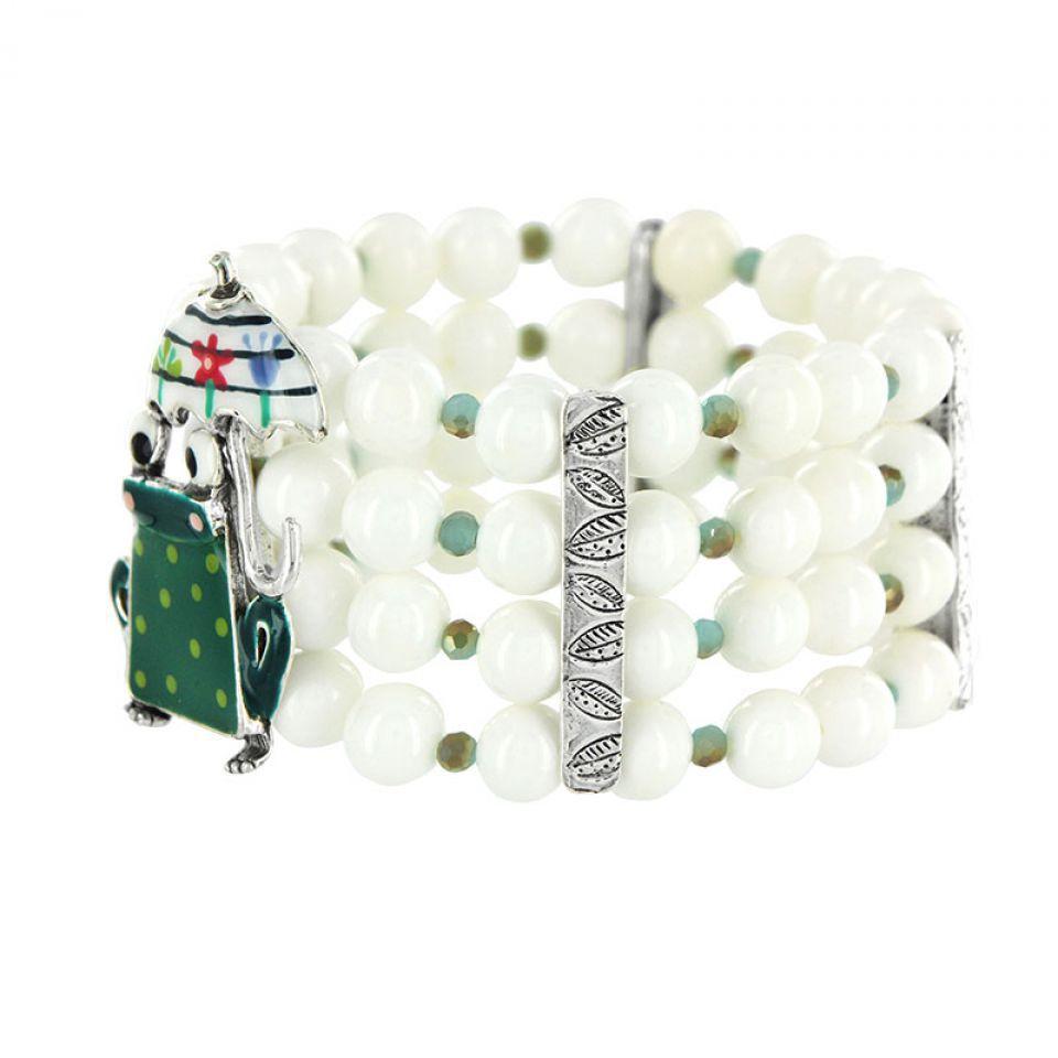 Bracelet Claquette Argent Multi Taratata Bijoux Fantaisie en ligne 3