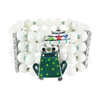 Bracelet Claquette Argent Multi