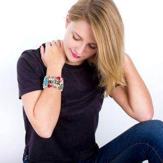 Bracelet Colette Argent Multi