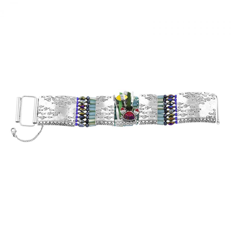 Bracelet Corail Argent Multi Taratata Bijoux Fantaisie en ligne 3