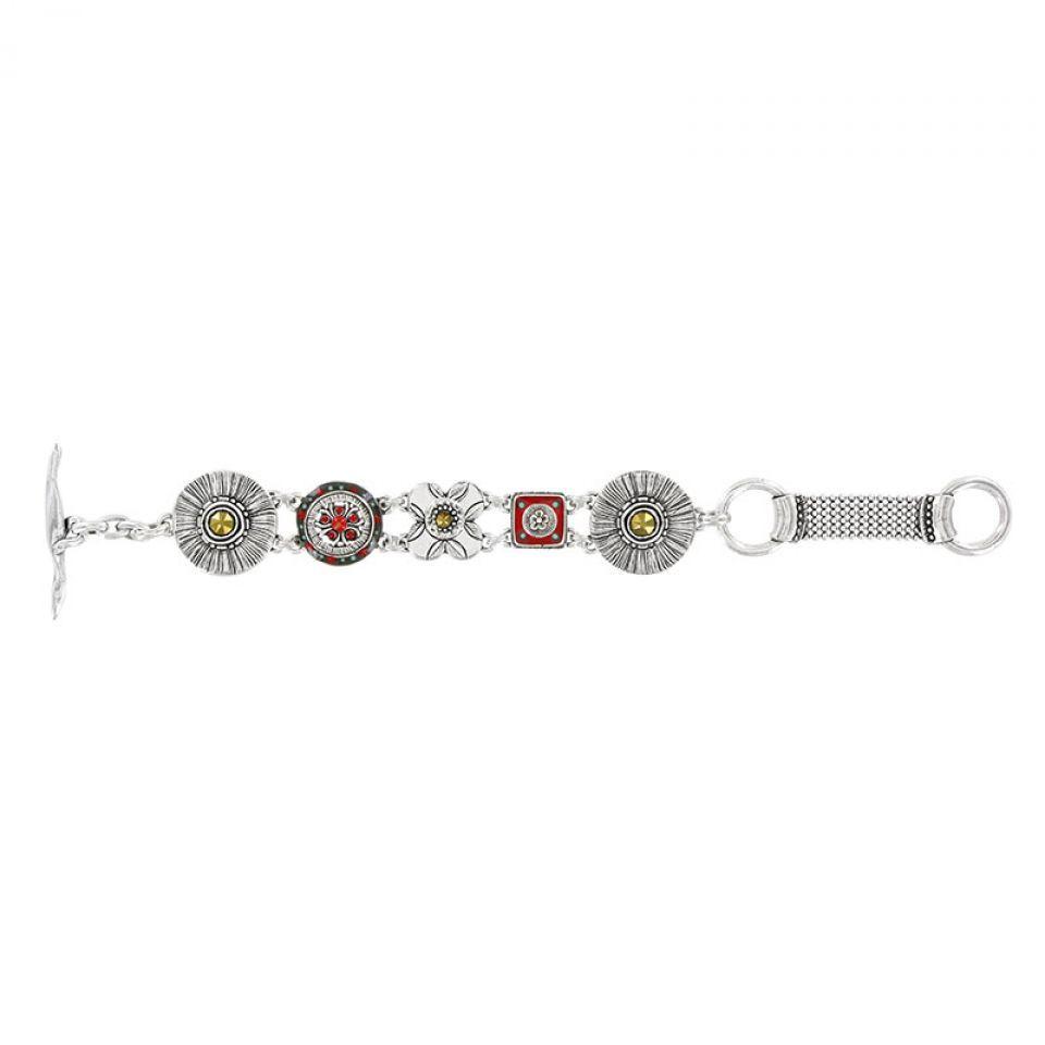 Bracelet Cucaracha Argent Multi Taratata Bijoux Fantaisie en ligne 1