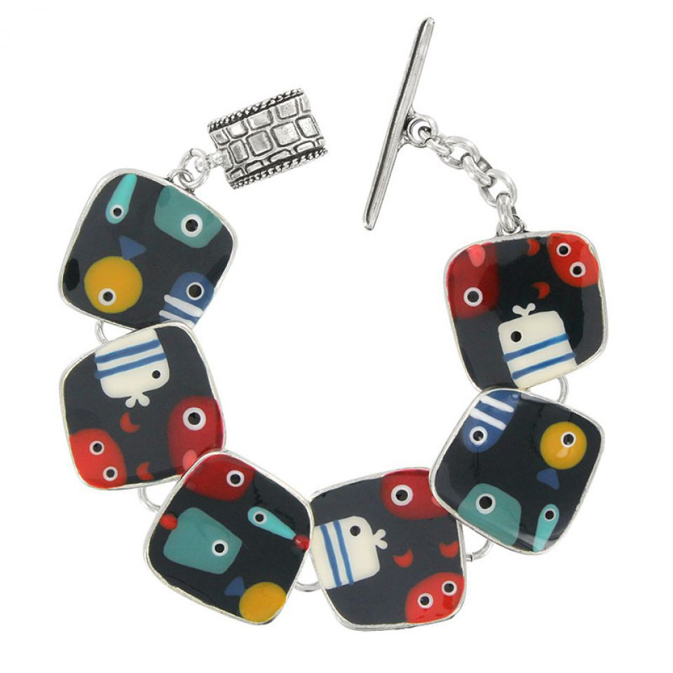 Bracelet Dandinette Argent Multi Taratata Bijoux Fantaisie en ligne 1