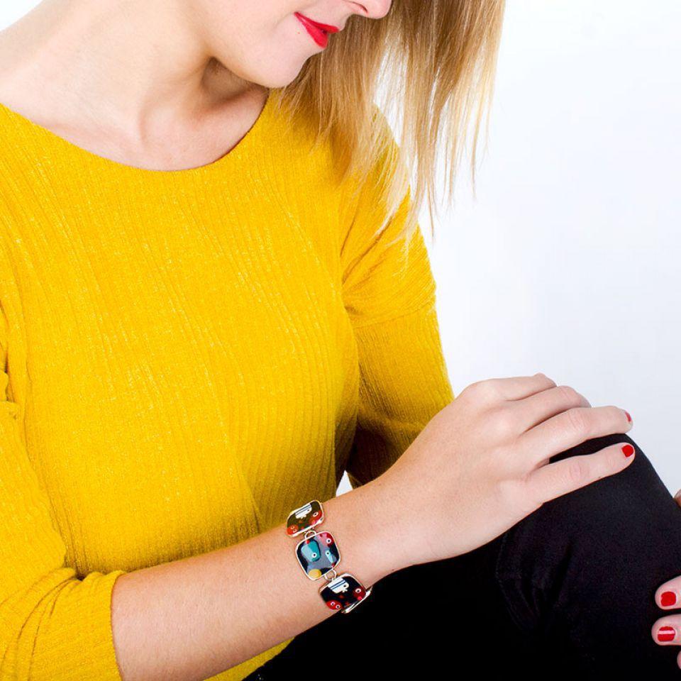 Bracelet Dandinette Argent Multi Taratata Bijoux Fantaisie en ligne 2