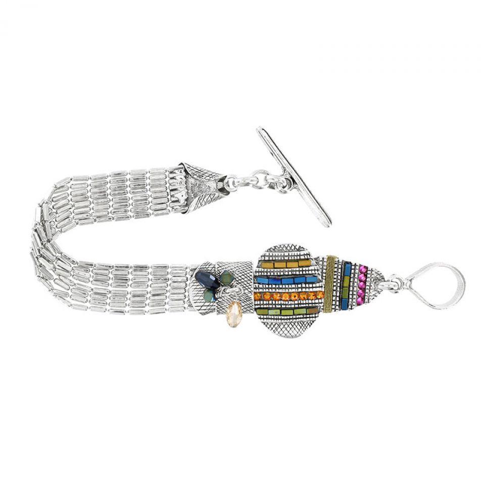 Bracelet Darling Argent Multi Taratata Bijoux Fantaisie en ligne 1