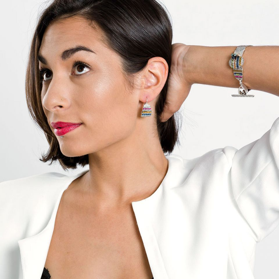Bracelet Darling Argent Multi Taratata Bijoux Fantaisie en ligne 2