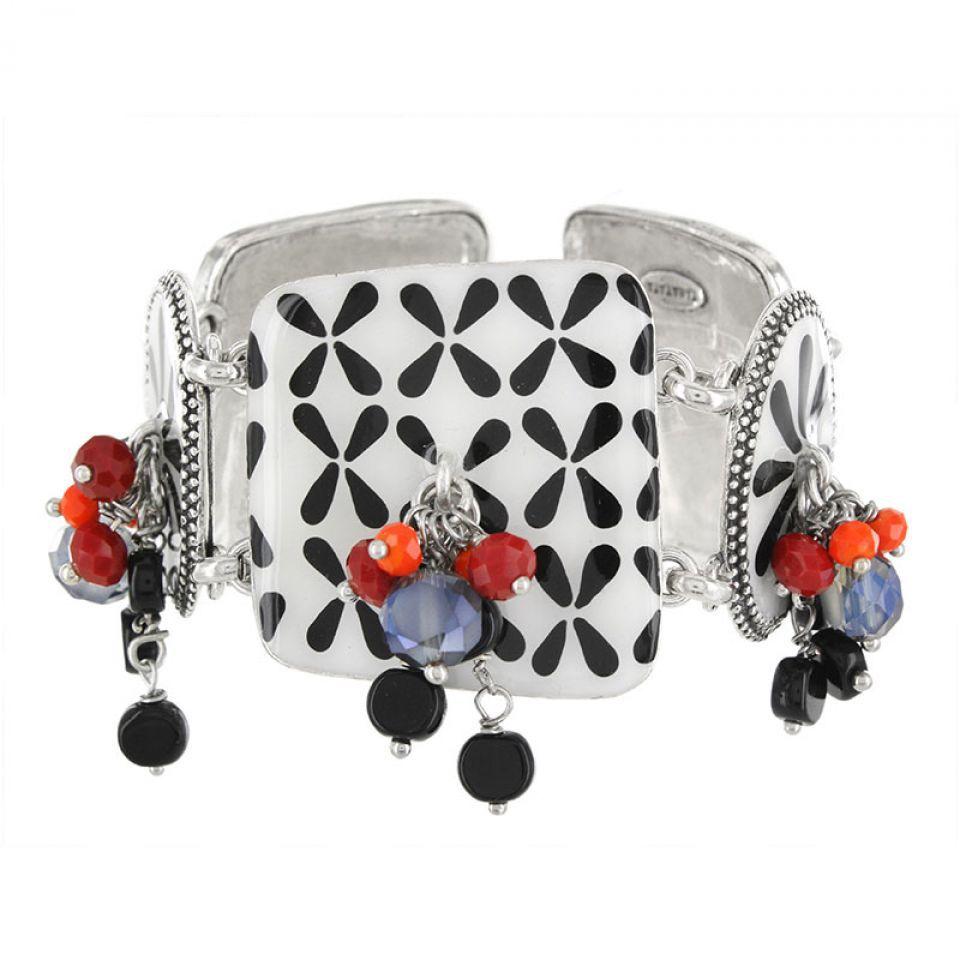 Bracelet Double Six Argent Multi Taratata Bijoux Fantaisie en ligne 1