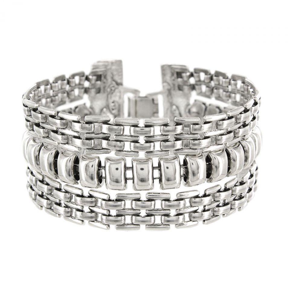Bracelet Essentiel Argent Argent Taratata Bijoux Fantaisie en ligne 1