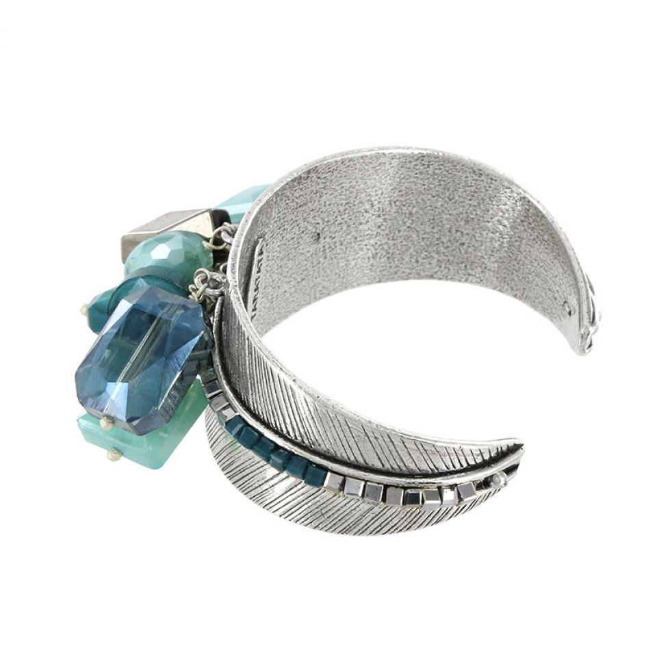 Bracelet Essentiels Argent Bleu Taratata Bijoux Fantaisie en ligne 3