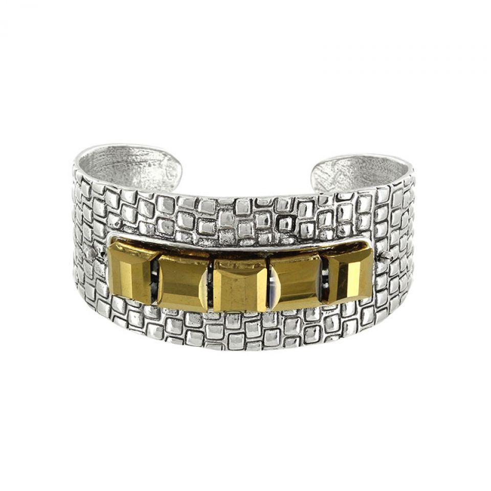 Bracelet Essentiels Argent Dore Taratata Bijoux Fantaisie en ligne 1